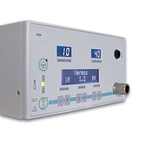 F104 - 40 l Insufflator with bottle gas connect. US languages: ENG, GER, FR, SP