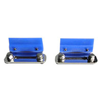 Screwable Holder set for endoscope baskets, with silicone as middle fixing and fixing material