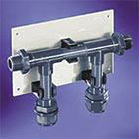 Distibution manifold - 2 outlets